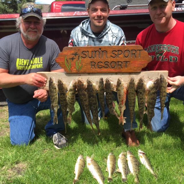 fish caught at lobster lake